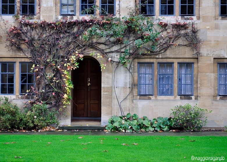 cortile universita oxford